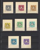 ++ 1966 Sport 12 Kop Nominal In Different Colour Thick Paper Colour Proof - Essais & Réimpressions