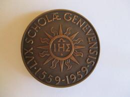 Suisse: 400e Anniversaire De L'université De Genève - Scholae Genevensis - 1959 - Royaux / De Noblesse
