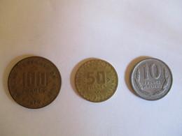 Mali: 100 Francs, 50 Francs 1975, 10 Francs 1961 - Mali (1962-1984)