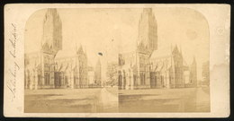 Stereoview - Salisbury Cathedral Wiltshire England - Stereoscopi