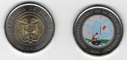 Panama - 1 Balboa 2019 ( 2018 ) UNC Centenary Red Croos Panama Comm. Lemberg-Zp - Panama