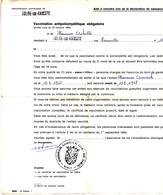 Commune De Solre-sur-Sambre  1968 - Old Paper