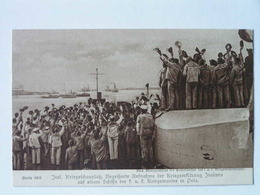 K.U.K. Kriegsmarine  SMS 1011 Gloria Viktoria Album Serie 48-6 1910 Pola - Krieg