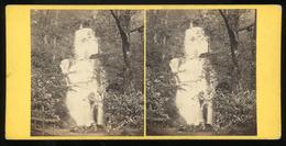 Stereoview - Barrow Falls, Derwentwater By G.W.Wilson - Stereoscopi