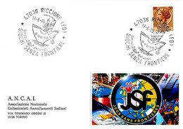 ITALIA - 1975 RICCIONE (FO) Giochi Senza Frontiere (nave) - Giochi