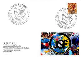 ITALIA - 1975 RICCIONE (FO) Giochi Senza Frontiere (nave) - 920 - Giochi