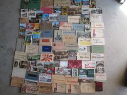 Gros Lots De Carnets De Cpa (france Et étranger )+de 90 Piéces - Cartes Postales