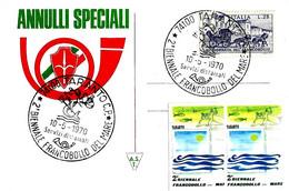 ITALIA - 1970 TARANTO 2^ Biennale Francobollo Del Mare (disegno Allegorico: Delfino Con Tridente) - Vacanze & Turismo