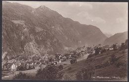 CPA  Suisse, LES MARECOTTES, L'Arpille, Carte Photo. - VS Valais