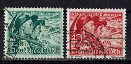 DR 1938 // Mi. 684/685 O - Deutschland