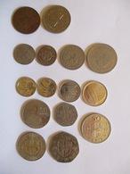 Ghana: Lot Of 15 Coins - Ghana