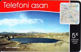 GREECE - Telefoni Asan Prepaid Card 5 Euro, Used - Landscapes