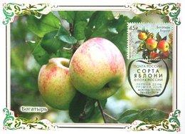 2456 Flora Of Russia Apple Varieties Maximum Cards 2019 - Maximum Cards