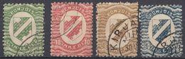 INGRIA - 1920 - Lotto Di 4 Valori Usati: Yvert 1/4. - Finlandia