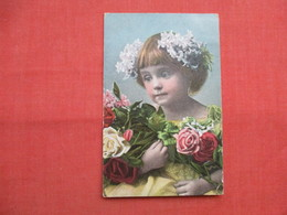 Young Girl With Flowers  Ref  3472 - Fashion