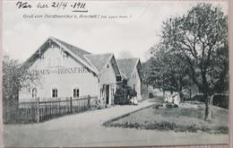 Gruss Vom Dorotheenthal B Arnstadt 1911 Rip I N - Unclassified
