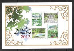 France BF N°132 Salon Du Timbre 2012 N++ - Neufs