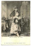 E11 Lebanon 19th Century Superb Postcard - Daughter Of The Prince Of Lebanon (Mir Bechir) - Dimitri Tarazi - Lebanon