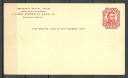 USA Ca 1935 Postal Stationery Stamped Postal Card Ganzsache Grant 2 C. Unused - Ganzsachen