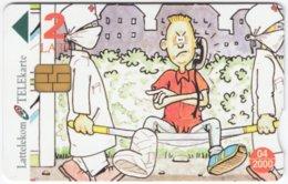 LATVIA A-138 Chip Lattelkom - Cartoon, Communication, Phone Booth - Used - Latvia