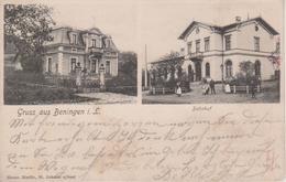 57 - BENING - 2 VUES - LA GARE + VILLA - Other Municipalities