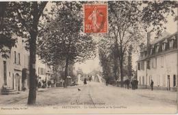 """BRETENOUX - La Gendarmerie Et La Grand'Rue - Série """" Le Lot Pittoresque """". - Bretenoux"""