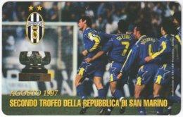 SAN MARINO A-111 Magnetic Telefonia - Sport, Soccer, Juventus Turin - MINT - San Marino