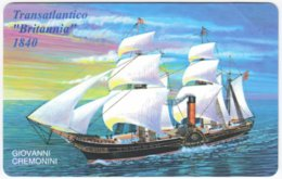 SAN MARINO A-116 Magnetic Telefonia - Painting, Traffic, Sail Ship - MINT - San Marino