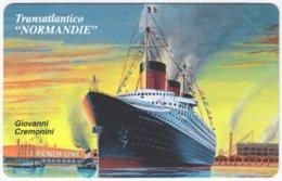 SAN MARINO A-129 Magnetic Telefonia - Painting, Traffic, Ship - MINT - San Marino