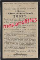 En 1900 Borre  (59) Conseiller Municipal Et Agriculreurs Du Nord Charles SOOTS ép Rosalie DEDRIE Et Céline DERYCKE - Décès