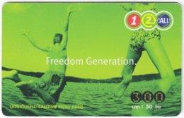 THAILAND E-451 Prepaid 1-2-Call - People, Youth - Used - Thaïland