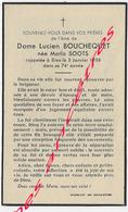 En 1958 Hazebrouck  (59) Maria SOOTS Ep Lucien BOUCHEQUET 74 Ans - Décès