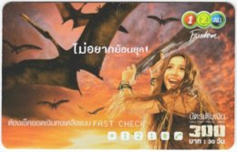 THAILAND E-604 Prepaid 1-2-Call - Phantasy, Prehistoric Animal, Dinosaur - Used - Thailand