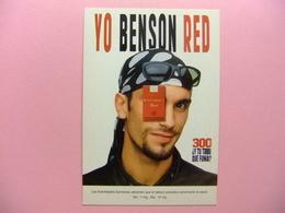 POSTAL PUBLICITARIA - YO BENSON RED (el Tabaco Perjudica) YO MOTERO - Publicidad
