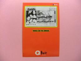 POSTAL PUBLICITARIA - NUNCA SIN TUS AMIGOS Qtal De AIRTEL - Publicidad