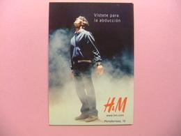 POSTAL PUBLICITARIA - VISTETE PARA LA ABDUCCION - H&M - Publicidad