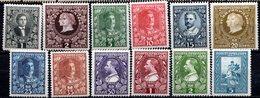 MONTENEGRO (Royaume) - 1910 - N° 88 à 99 - (Lot De 12 Valeurs Différentes) - (Prince Nicolas) - Montenegro