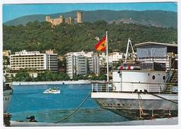 THE PORT AND BELLVER CASTLE, PALMA DE MALLORCA. HOTEL VICTORIA - Mallorca