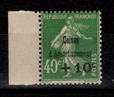 YV 253 N** Caisse Amortissement Cote 50 Euros - Ungebraucht
