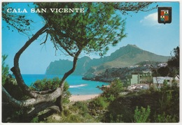 CALA SAN VINCENTE, MALLORCA. POSTED 1984 - Mallorca
