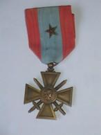 Décoration / Médaille THEATRE DES OPERATIONS EXTERIEURES Avec 1 Citation  ***** EN ACHAT IMMEDIAT **** - France