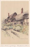 STRATFORD ON AVON - ANN HATHAWAYS COTTAGE. MARJORIE BATES - Stratford Upon Avon