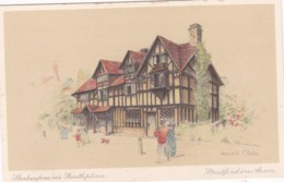 STRATFORD ON AVON - SHAKESPEARES BIRTHPLACE . MARJORIE BATES - Stratford Upon Avon