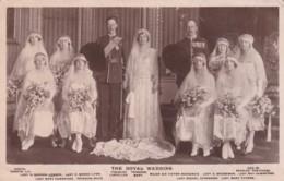THE ROYAL WEDDING - Royal Families