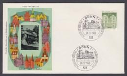 Germany-BRD FDC 1969 - MiNr. 502 - Deutsche Bauwerke Aus Zwölf Jahrhunderten II. (F2) - BRD