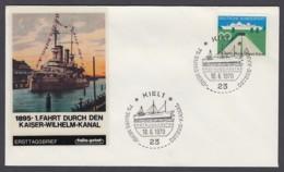 Germany-BRD FDC 1970 - MiNr. 628 - Nord-Ostsee-Kanal - ESST Kiel (F2) - [7] République Fédérale