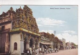1910'S. CEYLON. HINDU TEMPLE, COLOMBO. JOHN & CO - BLEUP - Sri Lanka (Ceylon)