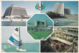 1992. UNITED ARAB EMIRAES. MULTI VUE. CIRCULEE TO BUENOS AIRES. FRANKING MACHINE - BLEUP - Emirati Arabi Uniti