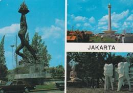 1986 CPA INDONESIA. JAKARTA. INOUE. CIRCULEE TO GERMANY - BLEUP - Indonésie