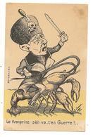 """""""Le Kronprinz S'en Va T'en Guerre"""" Illustrateur D. D'AURIAN Guerre 1914-1918 - Guerre 1914-18"""